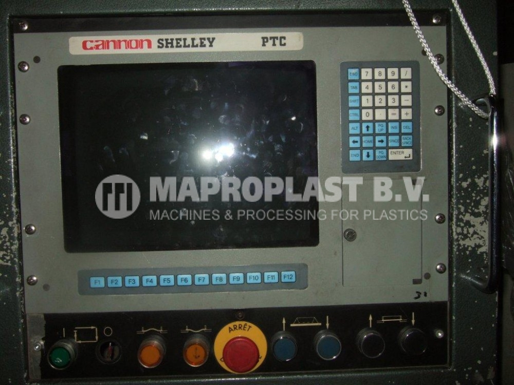 Cannon Shelley Thermoformer Maproplast