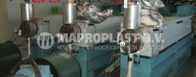 Barmag Single Screw Extruder 105mm 30LD