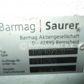 Barmag single screw extruder 10e10 2