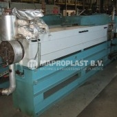 Barmag single screw extruder 10e8