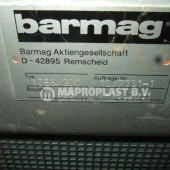 Barmag single screw extruder 10e8 2