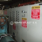 Barmag single screw extruder 10e8 electrical cabinet