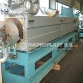 Barmag single screw extruder 15e8