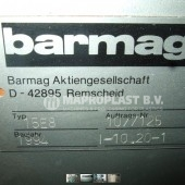 Barmag single screw extruder 15e8 2