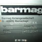 Barmag single screw extruder 15e8 2