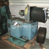 Barmag single screw extruder 17e8 motor