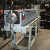 Barmag single screw extruder 7e10