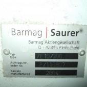Barmag single screw extruder 7e10 2
