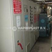 Barmag single screw extruder 7e8 electical cabinet